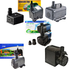 Becket, Sunterra, SunSun, Via Aqua Water Fountain, Aquarium Pumps